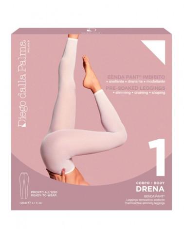 DIEGO DALLA PALMA 1.DRENA- BENDA PANT. LEGGINGS TERMOATTIVA SNELLENTE 120ML. BUSTA MONODOSE +PANTALONE IN CARTENE