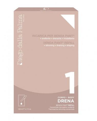 DIEGO DALLA PALMA 1.DRENA-RICARICA BENDA PANT. 120ML. BUSTA MONODOSE