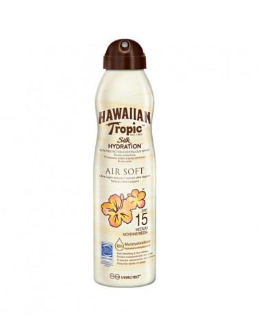 HAWAIIAN TROPIC SILK HIDRATION AIR SOFT SPF15