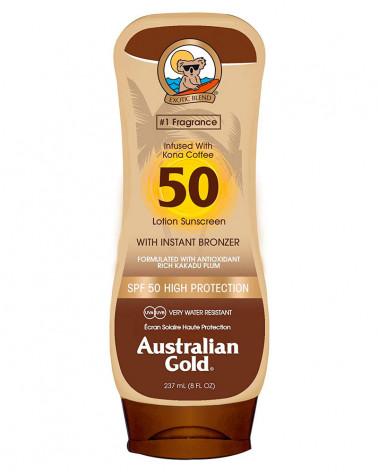 AUSTRALIAN GOLD LOTION PROT.50 CAFFE